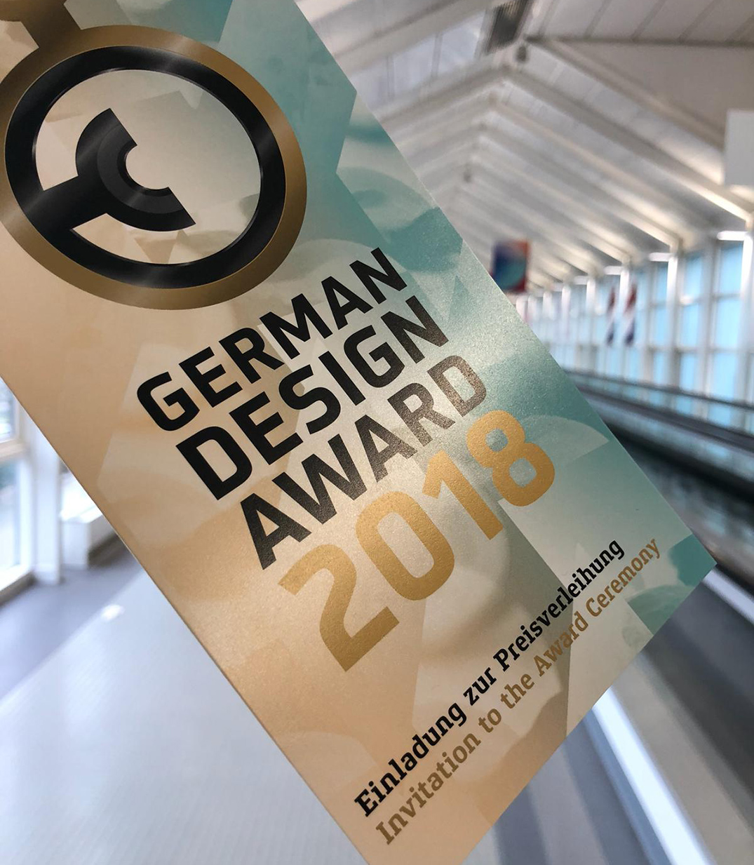 Ceremonia de entrega de los premios German Design Award 2018