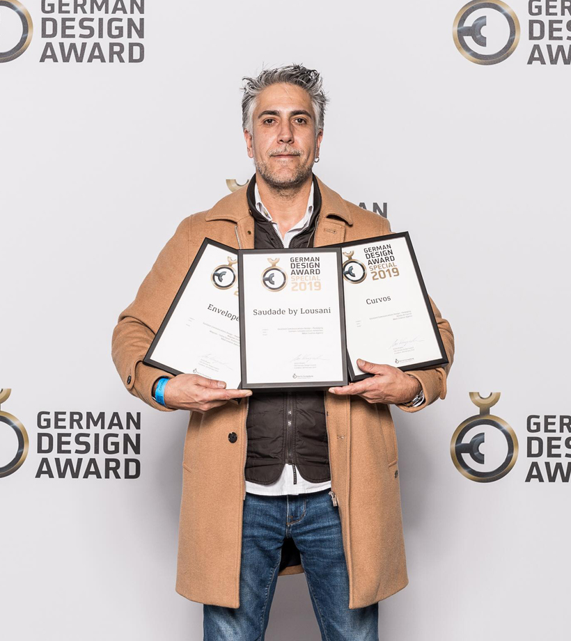 M&A CREATIVE AGENCY RECIBE TRES PREMIOS EN GERMAN DESIGN AWARD 2019